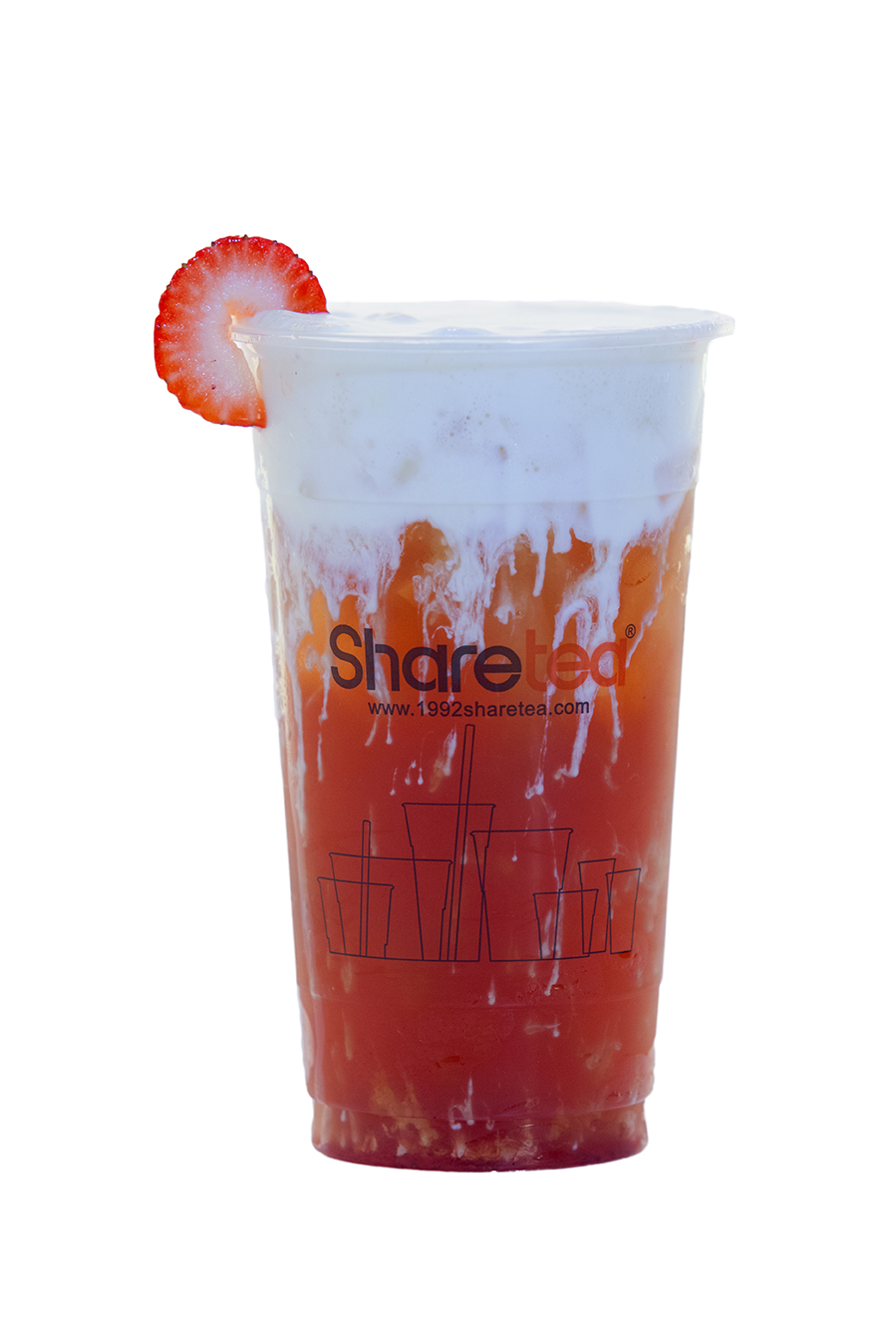 STRAWBERRY BLACK TEA CREAMA