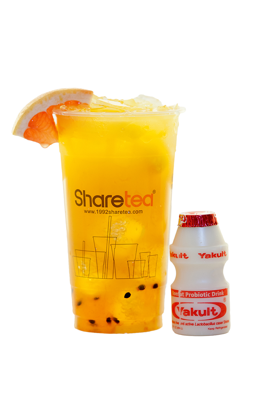 PASSION FRUIT WITH YAKULT