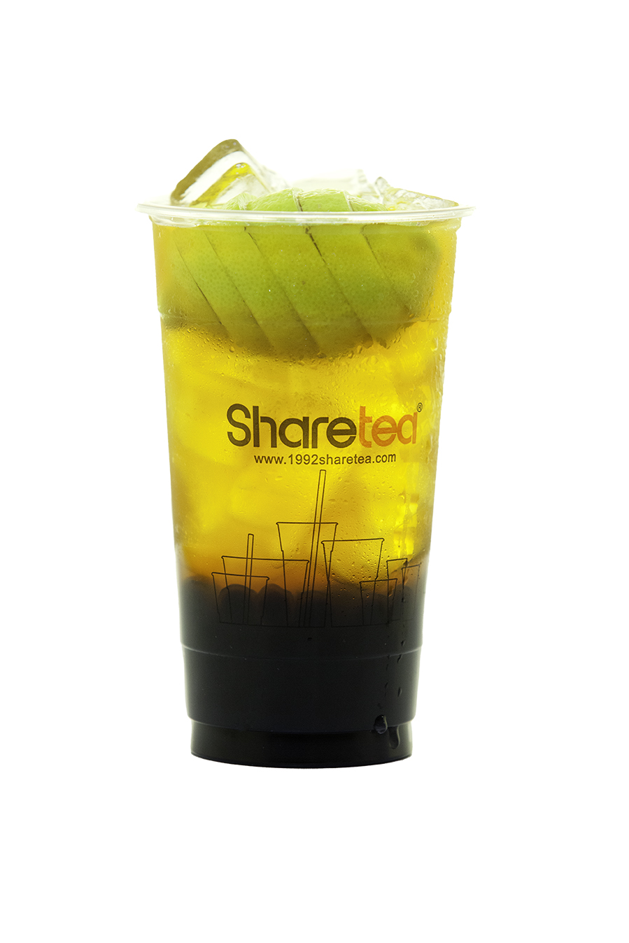 WHOLE LEMON GREEN TEA WITH PEARLS
