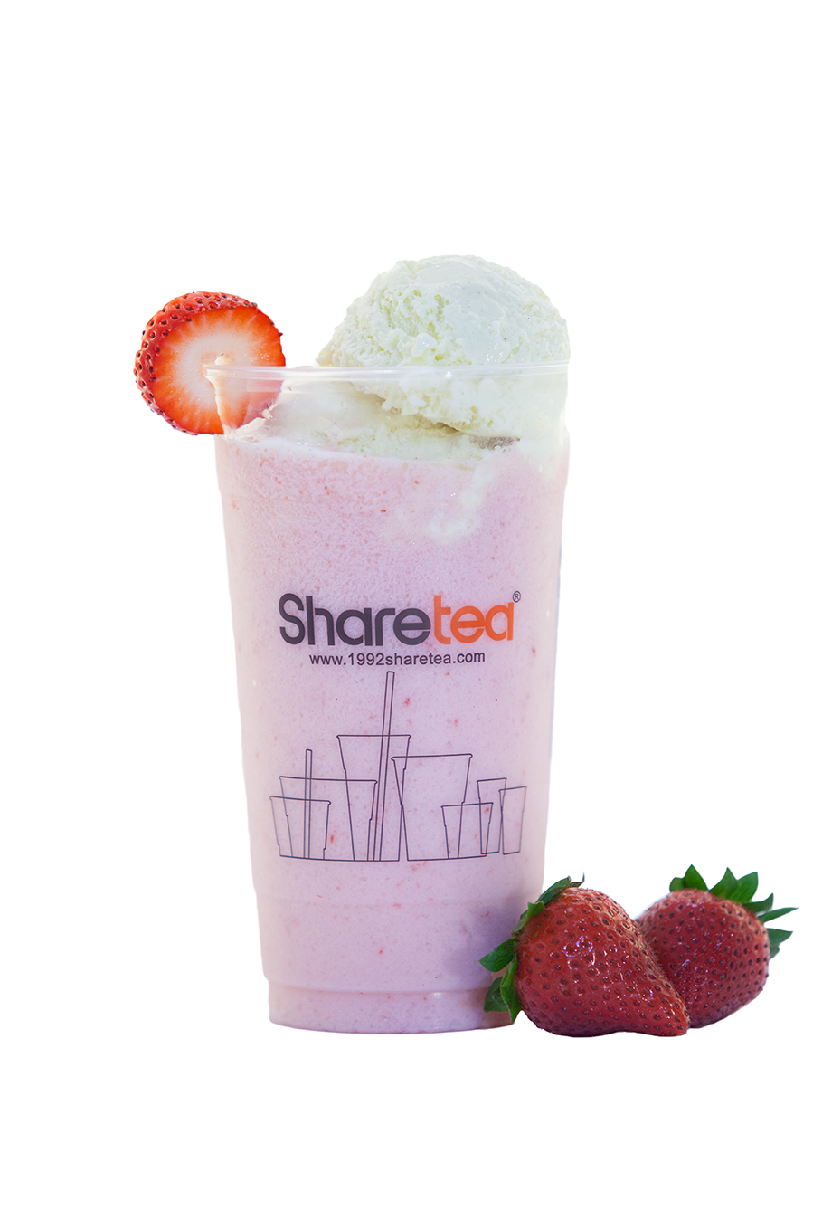 STRAWBERRY ICE BLENDED